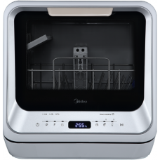 Midea Mini Dishwasher Silver JHMINIDWS