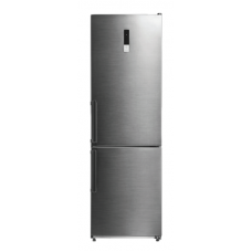 Midea 315L Bottom Mount Fridge Freezer Stainless Steel JHBMF315SS