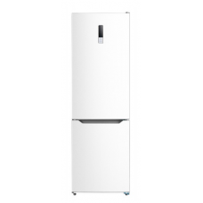 Midea 315L Bottom Mount Fridge Freezer White JHBMF315WH
