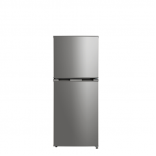 Midea 207L Top Mount Fridge Freezer Stainless Steel JHTMF207SS