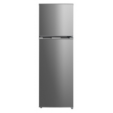 Midea 274L Top Mount Fridge Freezer Stainless Steel JHTMF274SS