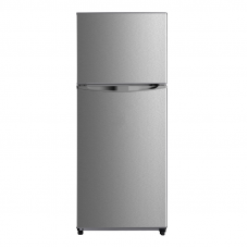 Midea 400L Top Mount Fridge Freezer Stainless Steel JHTMF400SS