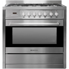 Parmco 900mm Combination Freestanding Stove, Stainless Steel AR 900