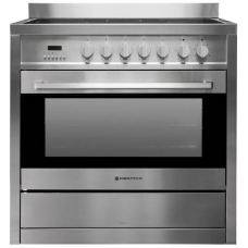 Parmco 900mm Ceramic Freestanding Stove, Stainless Steel AR 900-CER