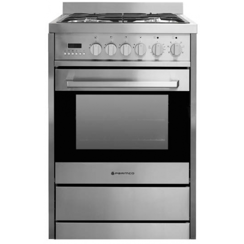 600mm, 70 Litre Combination Freestanding Gas Stove, Stainless Steel FS 600