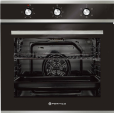 Parmco 600mm 76Litre Oven, 5 Function, Stainless Steel OX7-2-6S-5