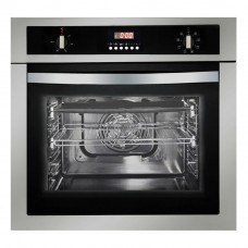 Parmco OX-1-6S-8 600mm 58 Litre Oven, 8 Function, Stainless Steel