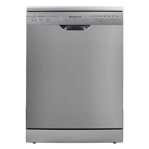 Parmco PD6-PSE-2 600mm Freestanding Dishwasher, Economy, Stainless Steel