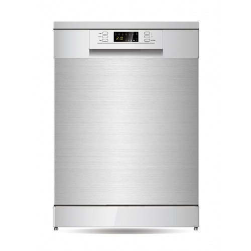 Parmco PD6-PSL-2 600mm Freestanding Dishwasher, LED Display, Stainless Steel