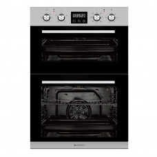 Parmco 600mm Double Oven, 7 + 4 Function, Stainless Steel PPOV-6S-DT-4