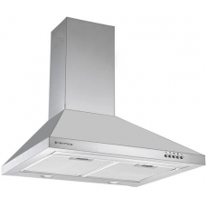 Parmco 600mm Styleline Canopy, Stainless Steel, LED RCAN-6S-500L