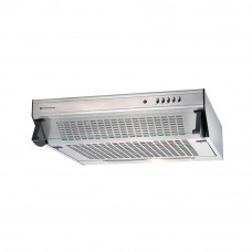 Parmco 600mm Glass Front Caprice Rangehood, Stainless Steel T5C6S350